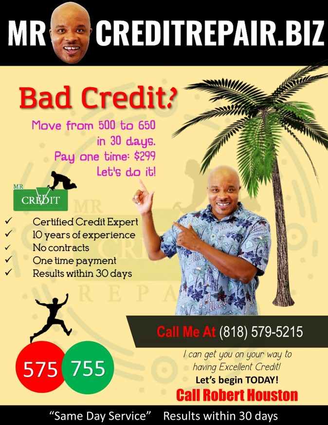 Mr Credit Repair Advertisement 1